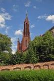 Άποψη σχετικά με το μοναστήρι Malchow - παλαιά εκκλησία Στοκ Φωτογραφίες