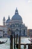 Άποψη σχετικά με το χαιρετισμό della Di Σάντα Μαρία βασιλικών, Βενετία, Ιταλία Στοκ φωτογραφία με δικαίωμα ελεύθερης χρήσης