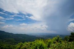 Άποψη σχετικά με το doi tung στοκ εικόνες
