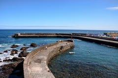 Άποψη σχετικά με Puerto de Λα Cruz Στοκ Εικόνα
