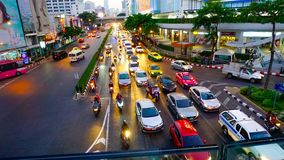 Άποψη Ταϊλάνδη πόλεων της Μπανγκόκ στοκ εικόνα με δικαίωμα ελεύθερης χρήσης