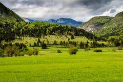 Άποψη της λίμνης Bohinj στο εθνικό πάρκο Σλοβενία Triglav Στοκ εικόνες με δικαίωμα ελεύθερης χρήσης