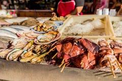 Άποψη της αγοράς στην παλαιά πόλη Phuket στοκ φωτογραφίες