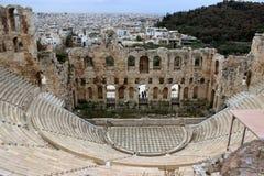 Άποψη της ακρόπολη της Αθήνας στοκ εικόνα