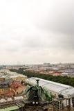 Άποψη της αρχαίας πόλης από την κορυφή στοκ φωτογραφίες