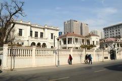 άποψη της αρχιτεκτονικής στην πόλη Tianjin Στοκ φωτογραφία με δικαίωμα ελεύθερης χρήσης