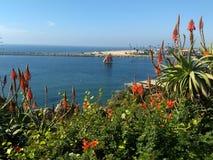 Άποψη της βάρκας που πλέει στο Newport Harbor, Καλιφόρνια Στοκ φωτογραφίες με δικαίωμα ελεύθερης χρήσης