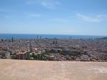 Άποψη της Βαρκελώνης Στοκ εικόνες με δικαίωμα ελεύθερης χρήσης