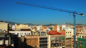 Άποψη της Βαρκελώνης Στοκ Εικόνα