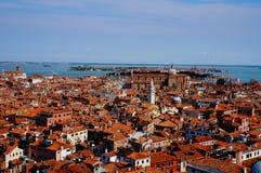 Άποψη της Βενετίας άνωθεν Στοκ εικόνα με δικαίωμα ελεύθερης χρήσης