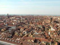 Άποψη της Βενετίας το Φεβρουάριο Στοκ Εικόνες
