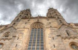 Άποψη της Βιέννης του καθεδρικού ναού του ST Stephen Στοκ εικόνες με δικαίωμα ελεύθερης χρήσης