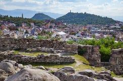 Άποψη της Βουλγαρίας Plovdiv Στοκ Φωτογραφία