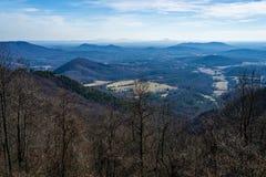 Άποψη της βόρειας Καρολίνας Piedmont στοκ εικόνες