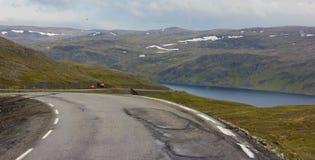 Άποψη της βόρειας Νορβηγίας στοκ φωτογραφία με δικαίωμα ελεύθερης χρήσης