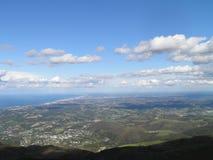 Άποψη της Γαλλίας από το βουνό Στοκ Εικόνες