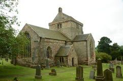 Άποψη της εκκλησίας Crichton Στοκ Φωτογραφίες