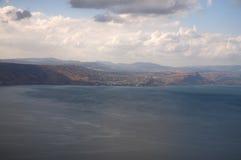 Άποψη της θάλασσας Galilee Στοκ Φωτογραφία