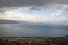Άποψη της θάλασσας Galilee Στοκ Φωτογραφίες