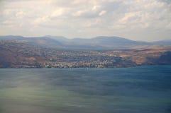 Άποψη της θάλασσας Galilee Στοκ Εικόνες