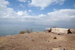 Άποψη της θάλασσας Galilee Στοκ Εικόνα