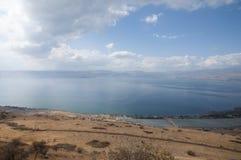 Άποψη της θάλασσας Galilee Στοκ εικόνα με δικαίωμα ελεύθερης χρήσης