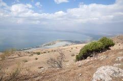 Άποψη της θάλασσας Galilee Στοκ φωτογραφία με δικαίωμα ελεύθερης χρήσης