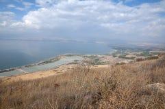 Άποψη της θάλασσας Galilee Στοκ φωτογραφίες με δικαίωμα ελεύθερης χρήσης