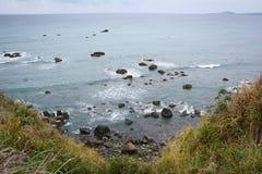 Άποψη της θάλασσας σε Taichung, Ταϊβάν Στοκ εικόνα με δικαίωμα ελεύθερης χρήσης