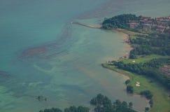 Άποψη της θάλασσας στη Σιγκαπούρη Στοκ εικόνα με δικαίωμα ελεύθερης χρήσης