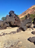 Άποψη της διάσημης παραλίας Pipa - για τον Ιστό στοκ εικόνα