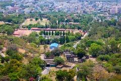 Άποψη της Ινδίας Arial πόλεων του Hyderabad Στοκ φωτογραφίες με δικαίωμα ελεύθερης χρήσης