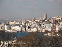 Άποψη της Ιστανμπούλ Στοκ φωτογραφία με δικαίωμα ελεύθερης χρήσης