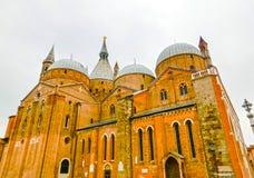 Άποψη της ιστορικής βασιλικής ST Anthony στην Πάδοβα Στοκ Φωτογραφίες