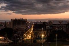 Άποψη της Κατάνια Στοκ φωτογραφία με δικαίωμα ελεύθερης χρήσης