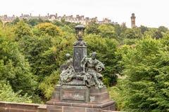 Άποψη της κεντρικής Γλασκώβης στη Σκωτία Στοκ Εικόνες