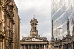 Άποψη της κεντρικής Γλασκώβης στη Σκωτία Στοκ φωτογραφία με δικαίωμα ελεύθερης χρήσης
