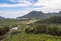 Άποψη της κοιλάδας του arriba στα βορειοδυτικά του νησιού του Τ Στοκ φωτογραφία με δικαίωμα ελεύθερης χρήσης