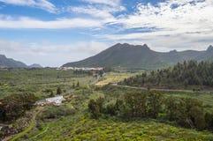 Άποψη της κοιλάδας του arriba στα βορειοδυτικά του νησιού του Τ Στοκ Φωτογραφίες