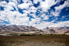 Άποψη της κοιλάδας Zanskar Στοκ εικόνες με δικαίωμα ελεύθερης χρήσης