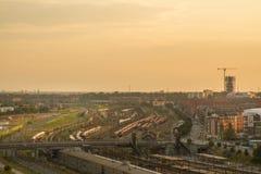 Άποψη της Κοπεγχάγης Στοκ φωτογραφία με δικαίωμα ελεύθερης χρήσης