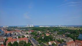 Άποψη της Κοπεγχάγης Στοκ Εικόνα