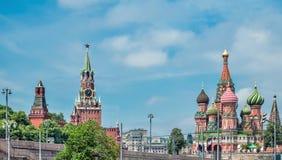 Άποψη της κόκκινης πλατείας στοκ φωτογραφία με δικαίωμα ελεύθερης χρήσης