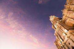 Άποψη της κύριας εκκλησίας καθεδρικών ναών στο πρωί Στοκ Εικόνα