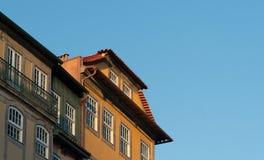 Άποψη της λεπτομέρειας σπιτιών στοκ εικόνα με δικαίωμα ελεύθερης χρήσης