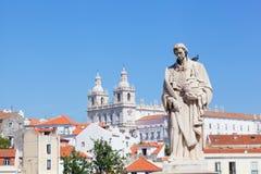 Άποψη της Λισσαβώνας Στοκ εικόνα με δικαίωμα ελεύθερης χρήσης