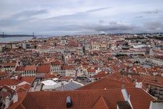 Άποψη της Λισσαβώνας Στοκ Φωτογραφίες