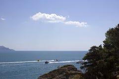 Κριμαία. Noviy Svet. Μαύρη Θάλασσα. Στοκ φωτογραφίες με δικαίωμα ελεύθερης χρήσης