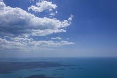 Άποψη της Μαύρης Θάλασσας Στοκ Εικόνες