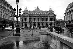 Άποψη της μεγάλης όπερας στο Παρίσι 12 Αυγούστου 2006 Στοκ φωτογραφία με δικαίωμα ελεύθερης χρήσης
